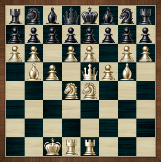Chess: when you refuse to make a move
