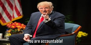 you are accountable