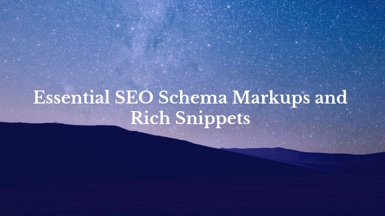 SEO Schema Rich Snippets Structured Data